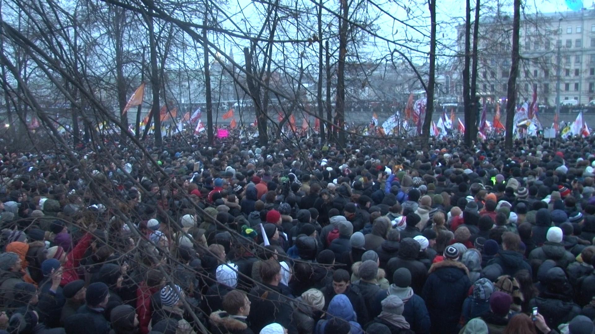 От площади Революции до Болотной