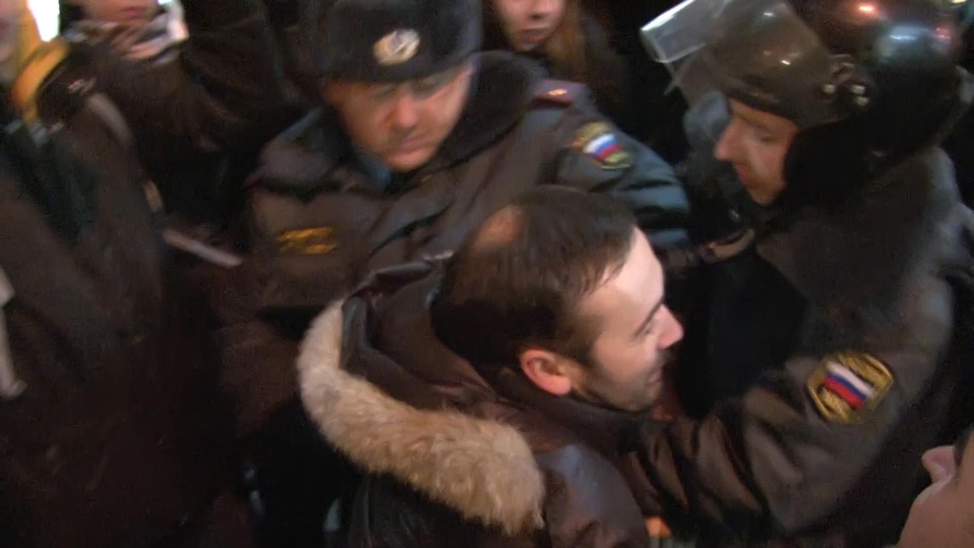 Задержание депутата госдумы Ильи Пономарева