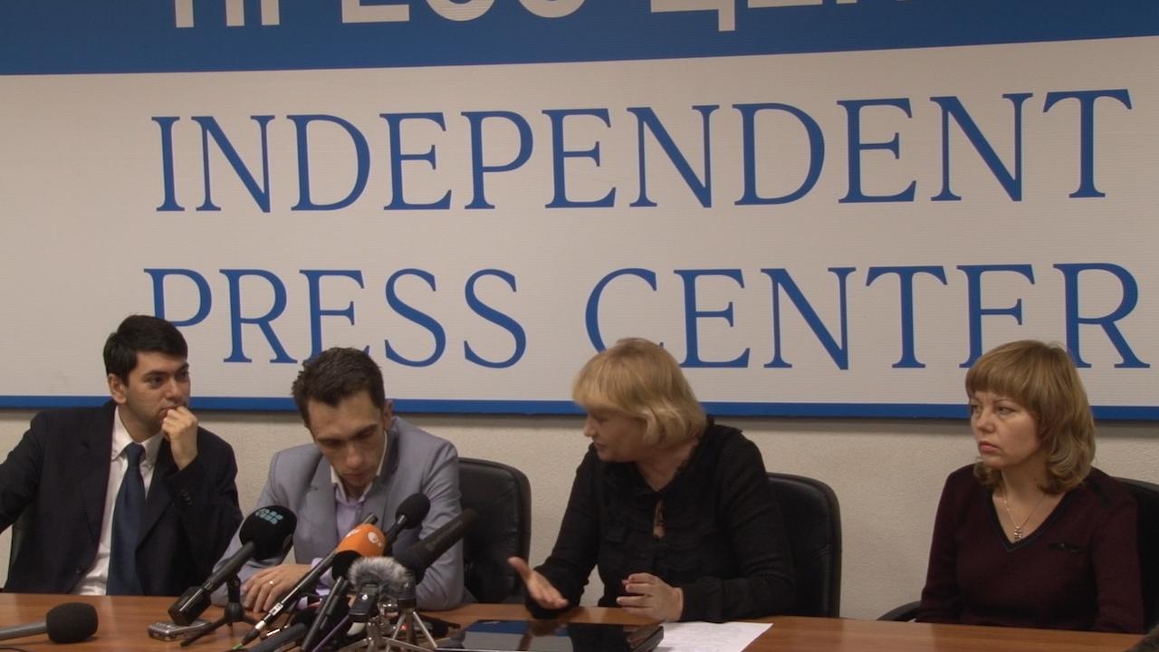 Пресс-конференция ассоциации «Голос»