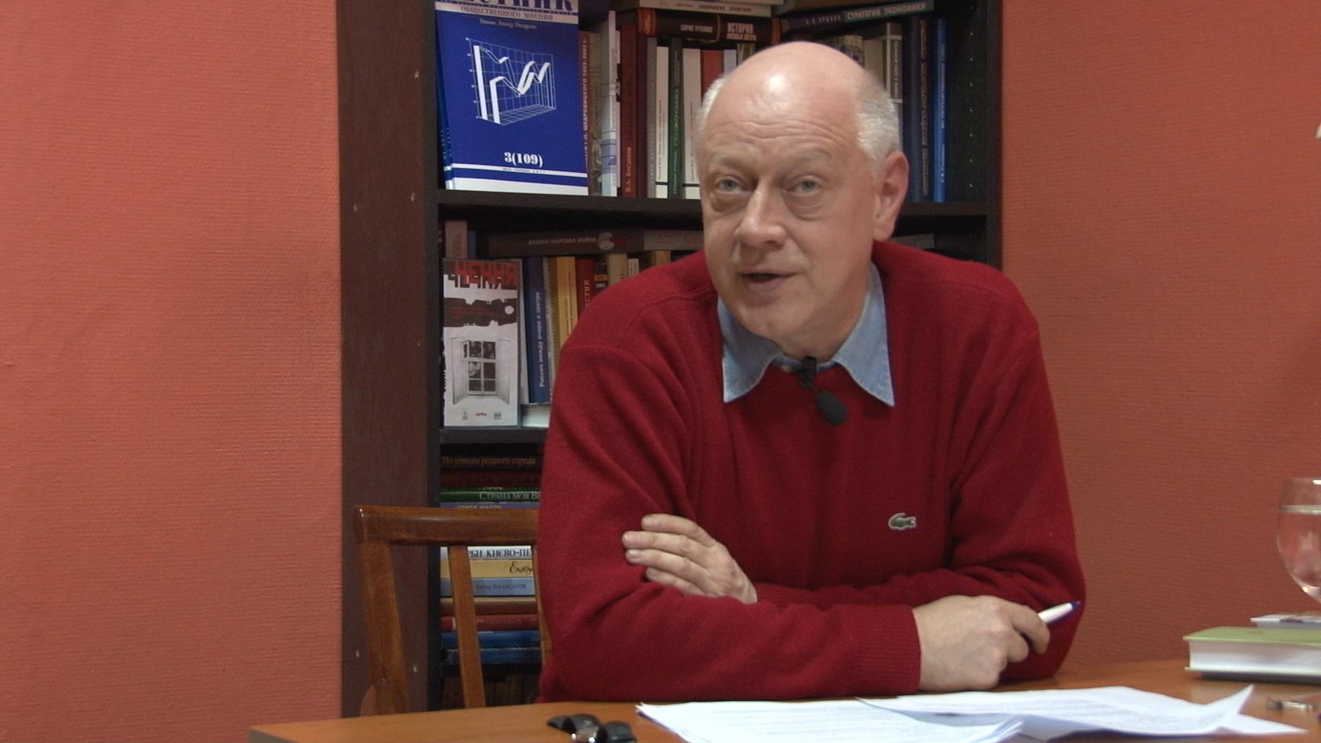 Борис Макаренко отвечает слушателям МШПИ.