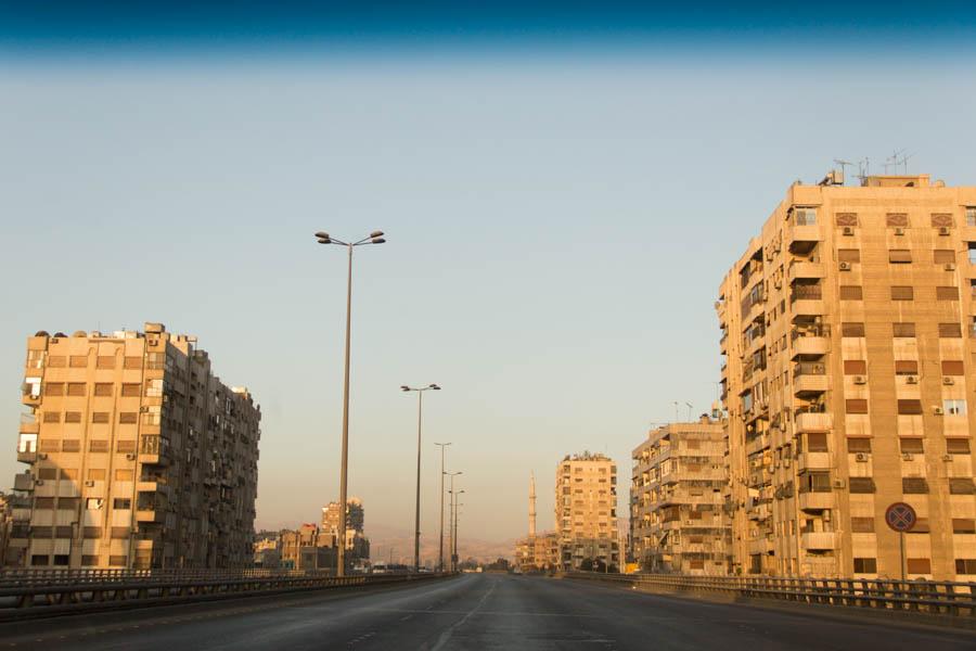 Утренняя трансляция из Дамаска.