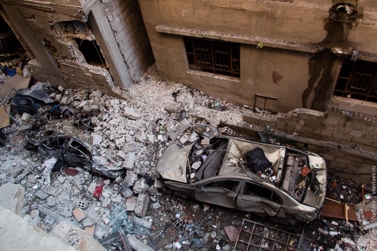 Сирия. Дамаск On-Line: Теракты в Джерамане.