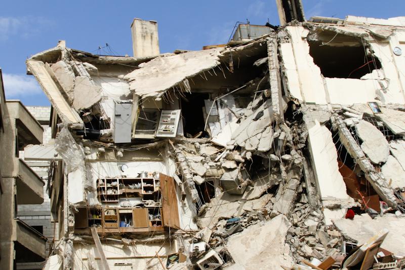 Дамаск. Хараста. Возвращение жителей