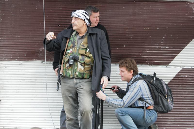 Дамаск On-Line: Интервью из штаба национального фронта освобождения Палестины