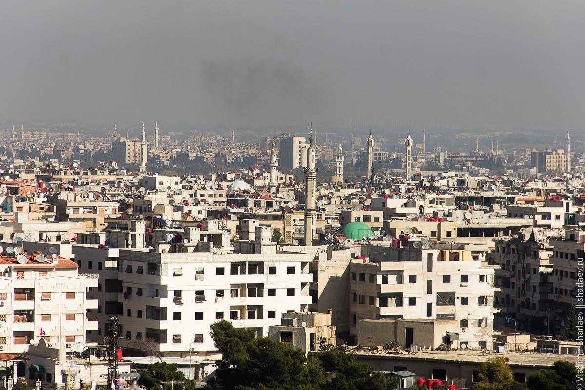 Сирия. Дамаск On-Line: Хараста с крыши министерства (запись)