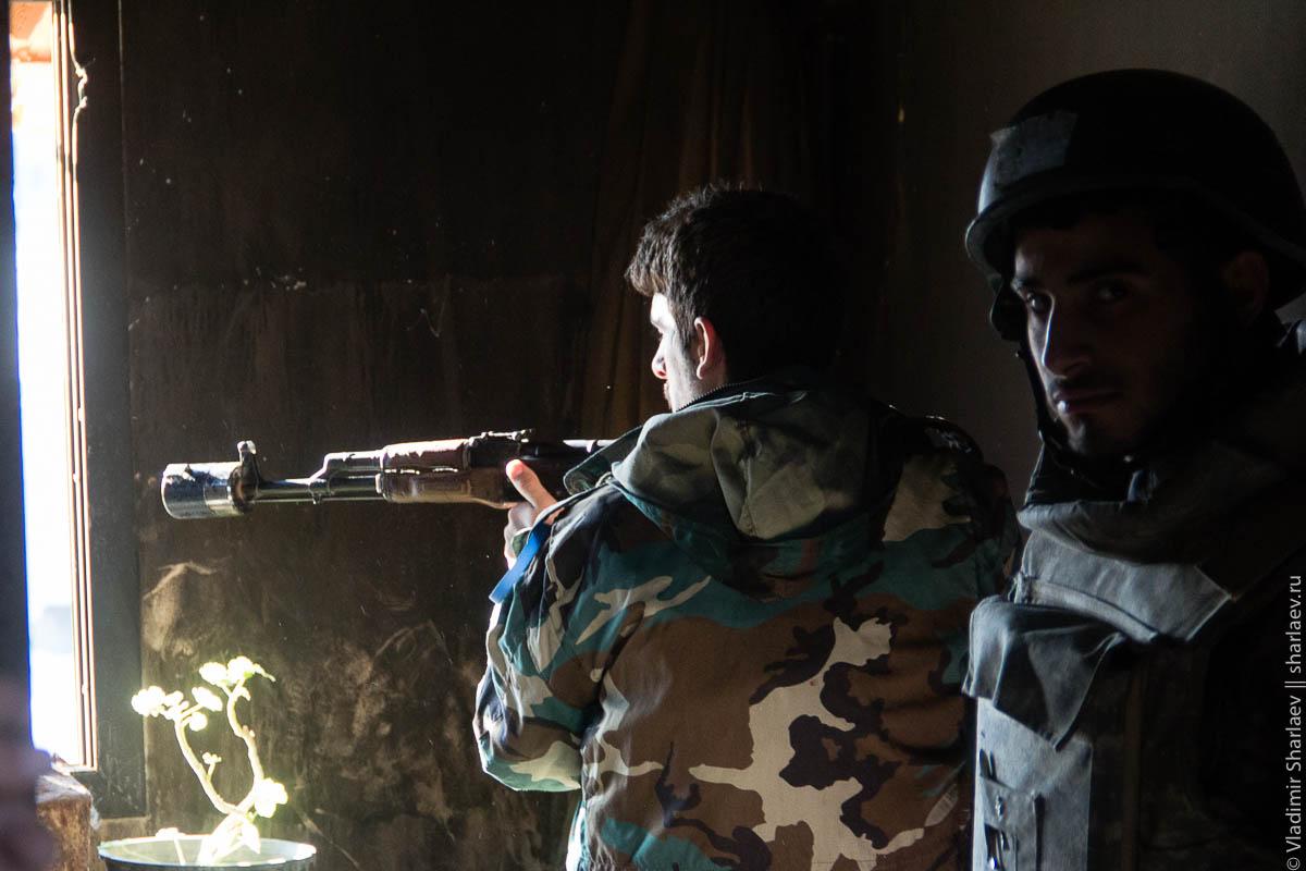 Сирия. Дамаск On-Line: Интервью с генералом сирийской армии с передовой #Cирия #Syria
