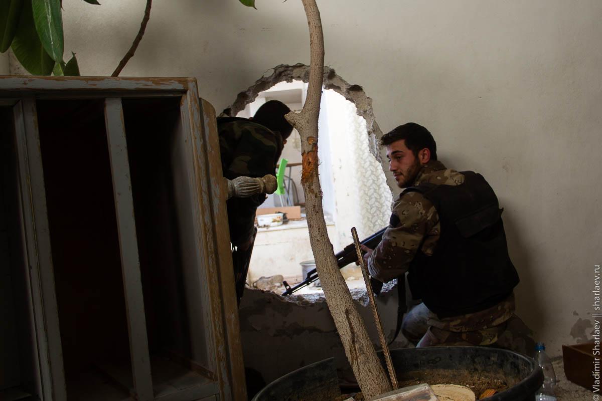 Сирия. Дамаск On-Line: Передовая в Дарайя