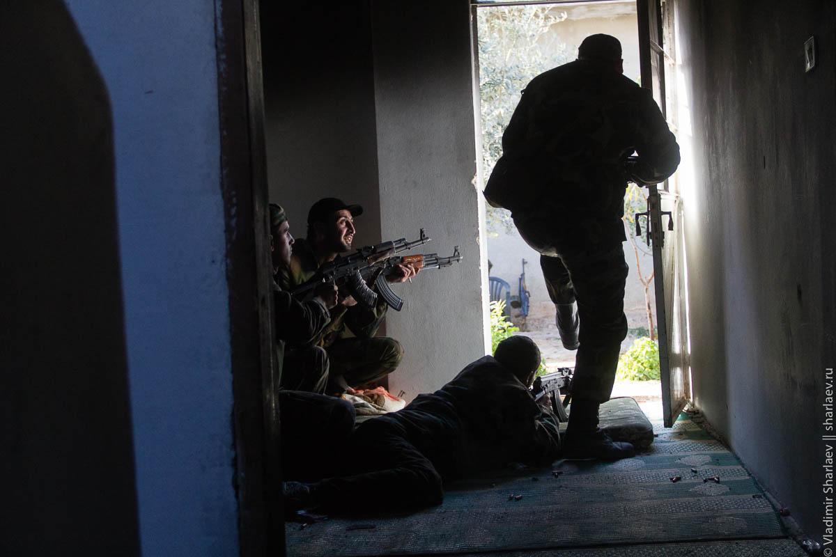 Сирия. Дамаск On-Line: 5 декабря. Со штурмовым отрядом в Дарайя