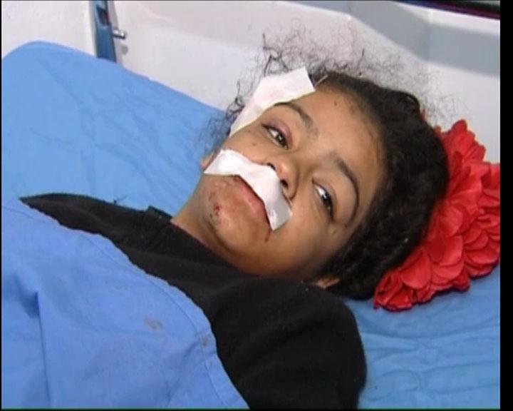 Сирия. После минометного обстрела школы 4 декабря 2012