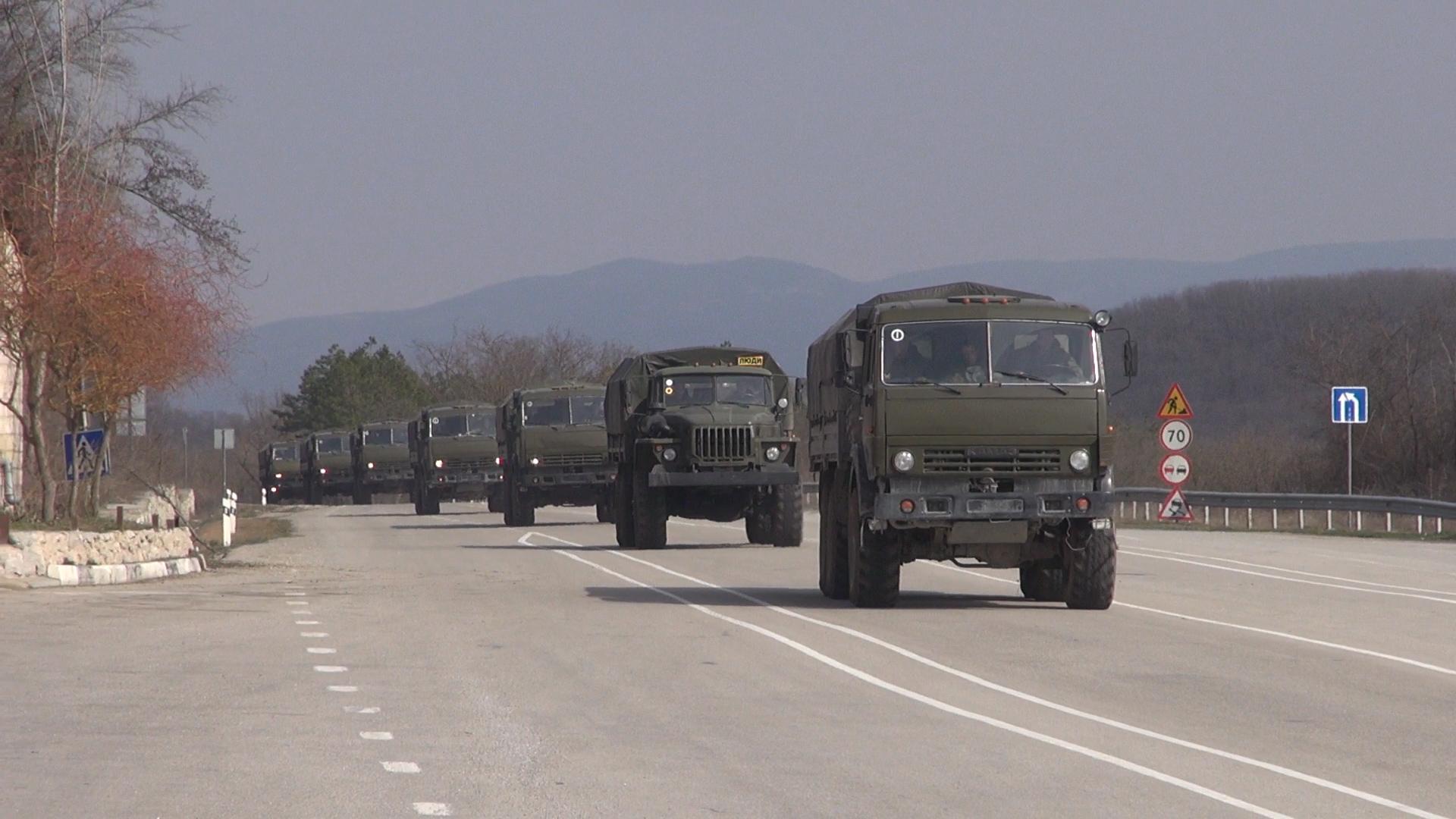 Крым: Марш вежливых людей