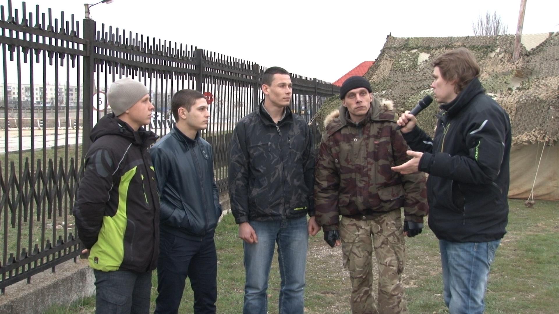 Крым: украинские морпехи хотят служить России