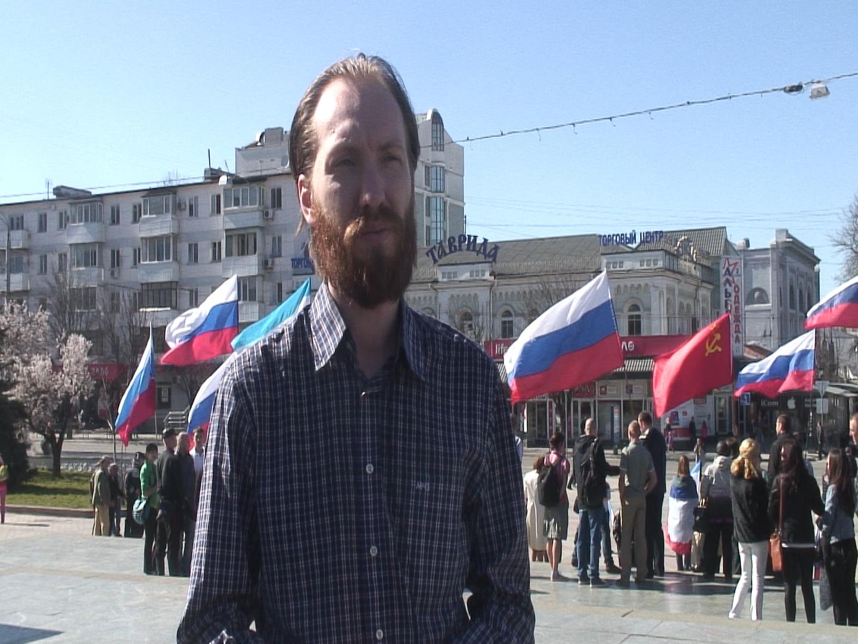 Крым: Симферополь принял первого политического беженца