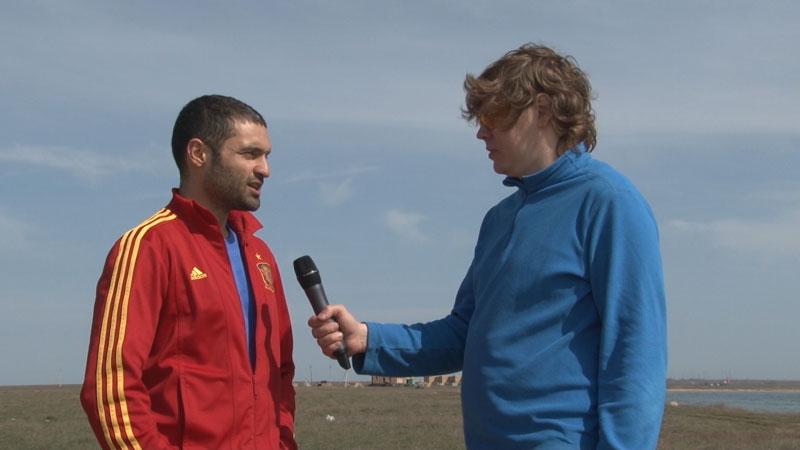 Крым: «рыбалка» на Донузлаве с украинским активистом