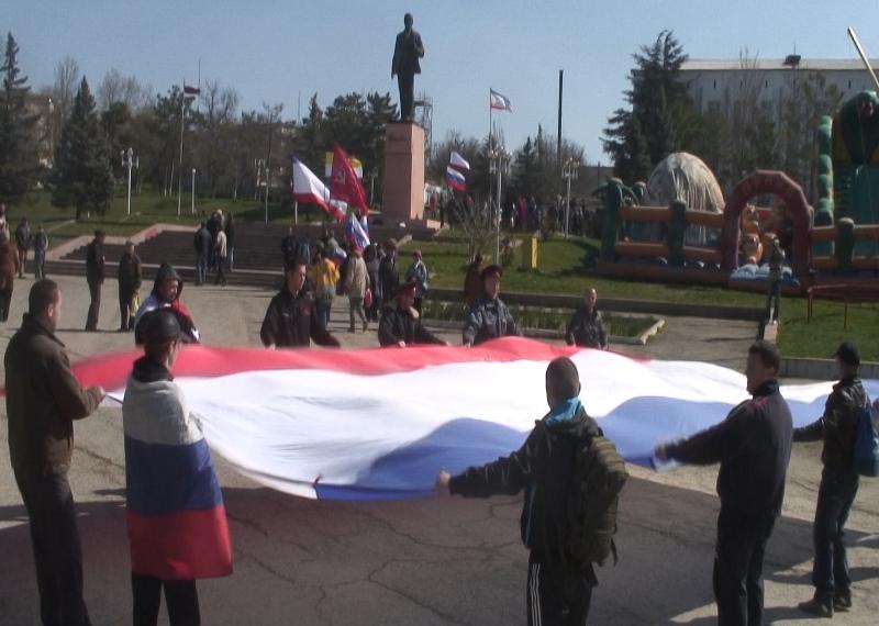 Крым: бахчисарайцы поддержали Юго-Восток Украины