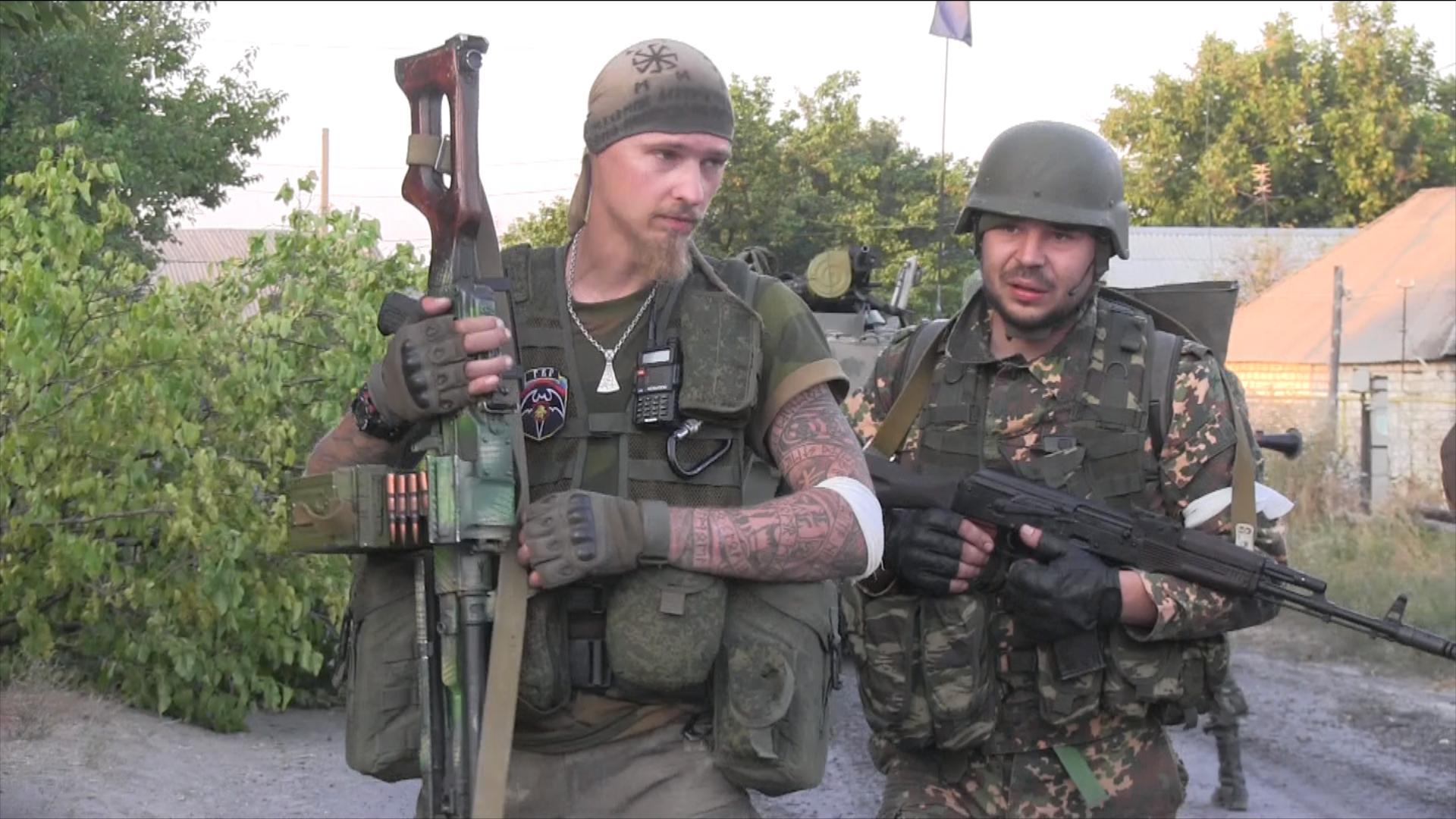 группа быстрого реагирования «Русич» 4-го батальона ЛНР «Бэтман»