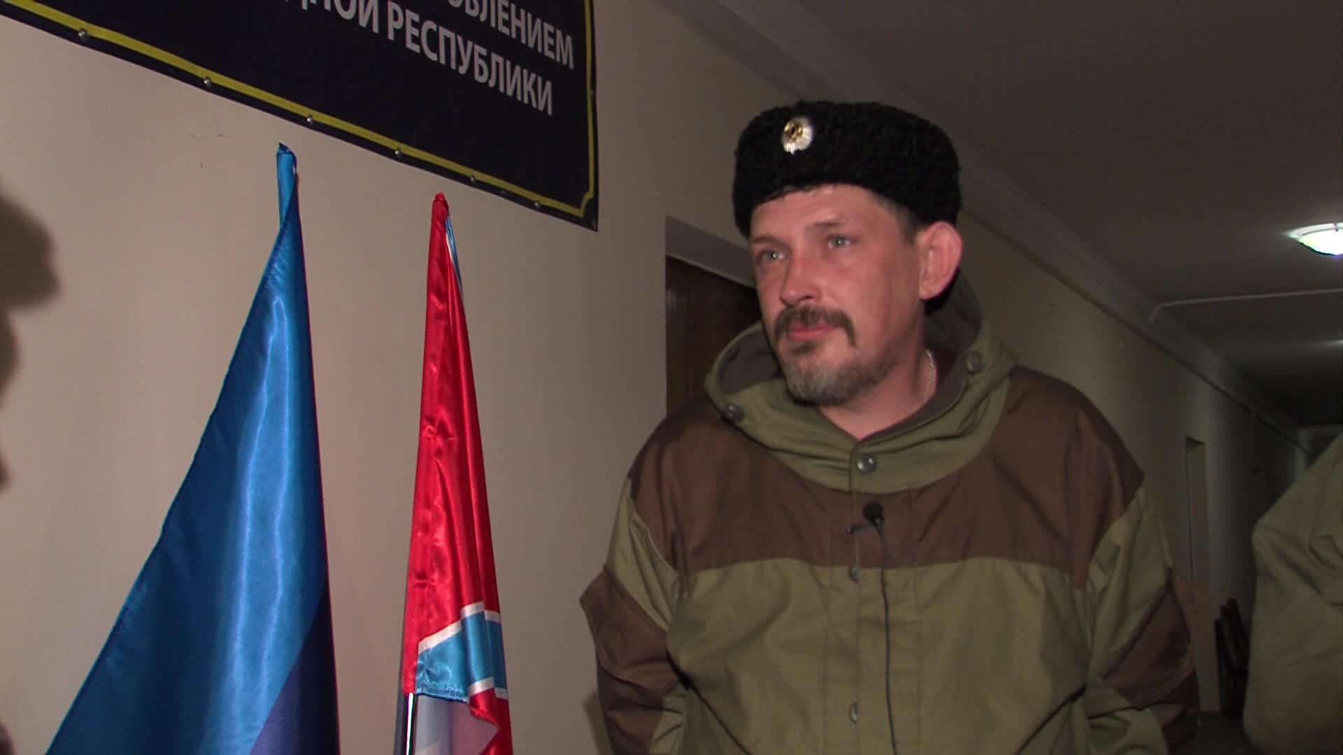Павел Дрёмов в ОГА Луганска