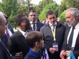 Африканские лидеры приняли участие в озеленении России